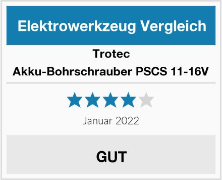 Trotec Akku-Bohrschrauber PSCS 11-16V Test