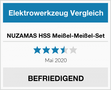 NUZAMAS HSS Meißel-Meißel-Set Test