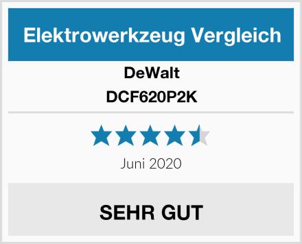 DeWalt DCF620P2K Test