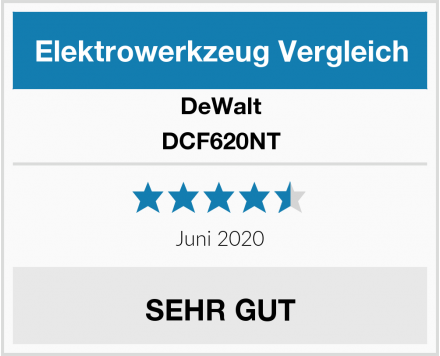 DeWalt DCF620NT Test