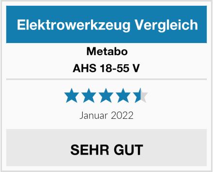 Metabo AHS 18-55 V Test