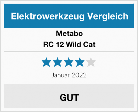 Metabo RC 12 Wild Cat Test