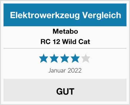 Metabo RC 12 Wild Cat Test
