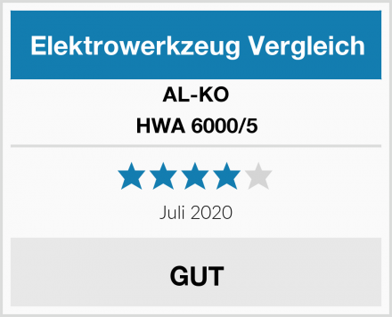 AL-KO HWA 6000/5 Test