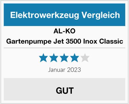 AL-KO Gartenpumpe Jet 3500 Inox Classic Test