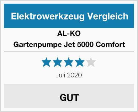 AL-KO Gartenpumpe Jet 5000 Comfort Test