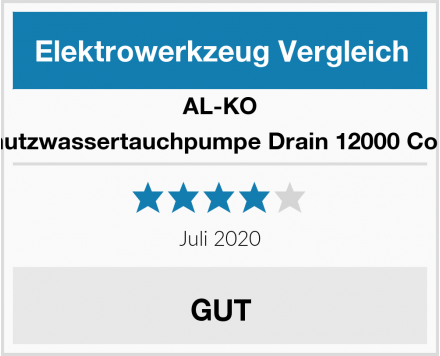 AL-KO Schmutzwassertauchpumpe Drain 12000 Comfort Test