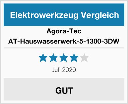 Agora-Tec AT-Hauswasserwerk-5-1300-3DW Test