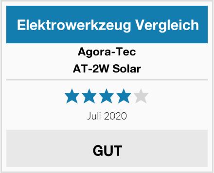 Agora-Tec AT-2W Solar Test