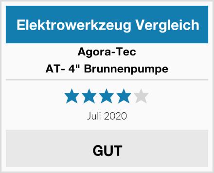 "Agora-Tec AT- 4"" Brunnenpumpe Test"