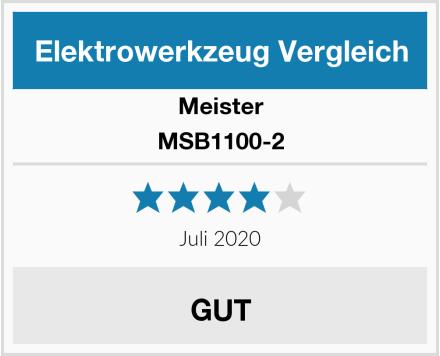 Meister MSB1100-2 Test