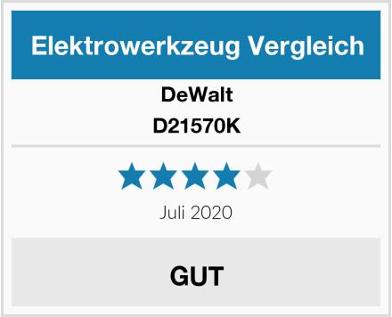 DeWalt D21570K Test