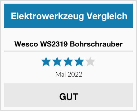 Wesco WS2319 Bohrschrauber Test