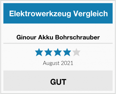 Ginour Akku Bohrschrauber Test