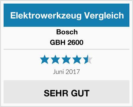 Bosch GBH 2600 Test
