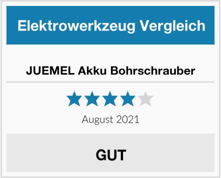 JUEMEL Akku Bohrschrauber Test