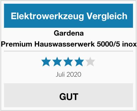 Gardena Premium Hauswasserwerk 5000/5 inox Test