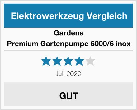 Gardena Premium Gartenpumpe 6000/6 inox Test