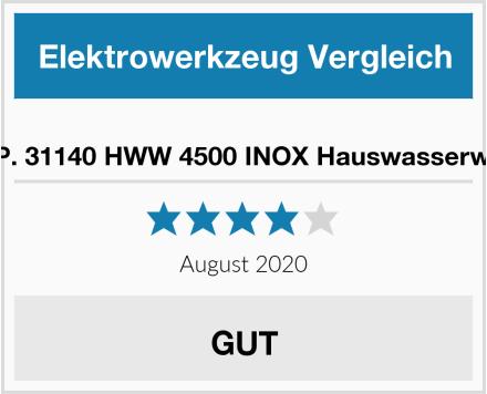 T.I.P. 31140 HWW 4500 INOX Hauswasserwerk Test