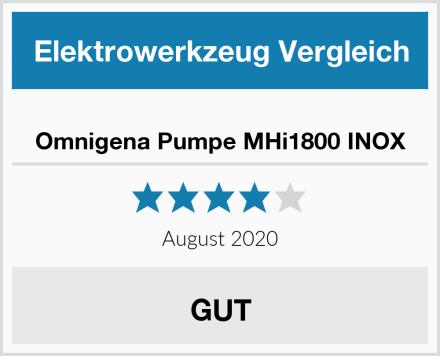 Omnigena Pumpe MHi1800 INOX Test