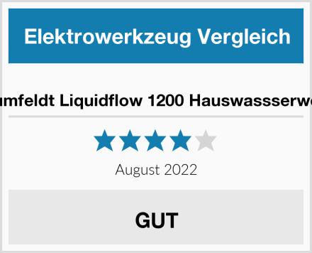 Blumfeldt Liquidflow 1200 Hauswassserwerk Test