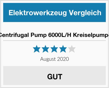 Centrifugal Pump 6000L/H Kreiselpumpe Test