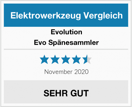 Evolution Evo Spänesammler Test