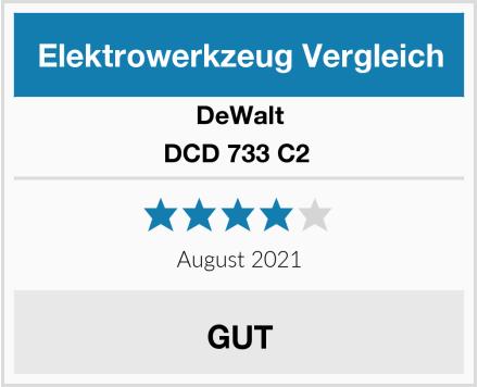 DeWalt DCD 733 C2  Test