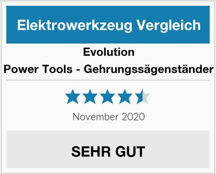 Evolution Power Tools - Gehrungssägenständer Test