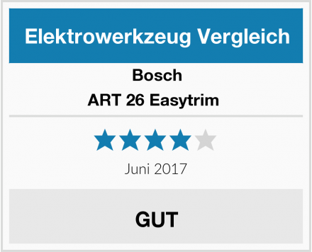Bosch ART 26 Easytrim  Test