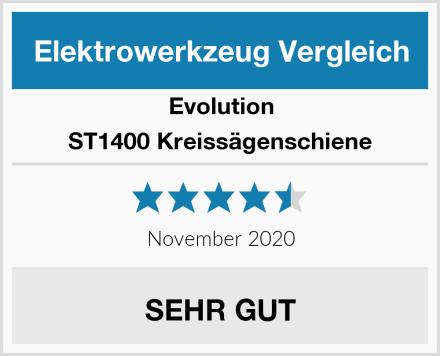 Evolution ST1400 Kreissägenschiene Test