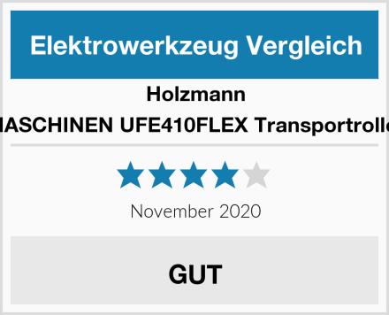 Holzmann MASCHINEN UFE410FLEX Transportroller Test