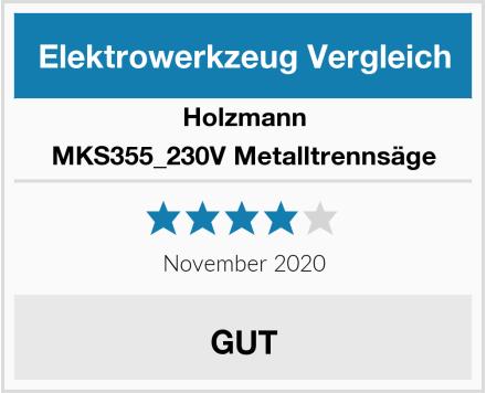 Holzmann MKS355_230V Metalltrennsäge Test