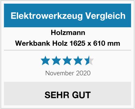 Holzmann Werkbank Holz 1625 x 610 mm Test