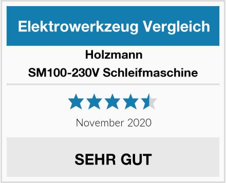Holzmann SM100-230V Schleifmaschine Test