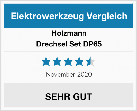 Holzmann Drechsel Set DP65 Test