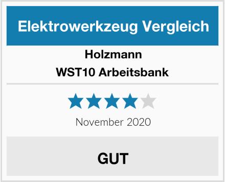 Holzmann WST10 Arbeitsbank Test