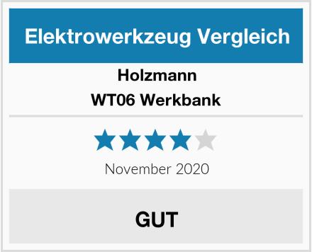 Holzmann WT06 Werkbank Test
