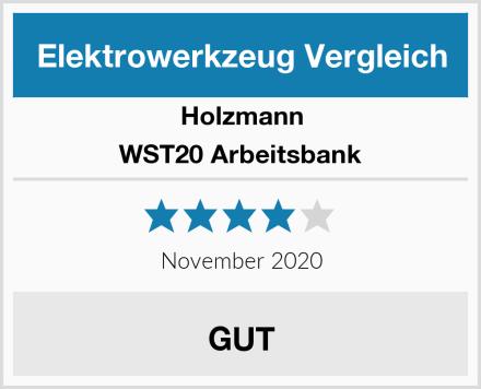 Holzmann WST20 Arbeitsbank Test