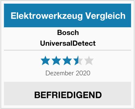 Bosch UniversalDetect Test