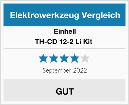 Einhell TH-CD 12-2 Li Kit  Test