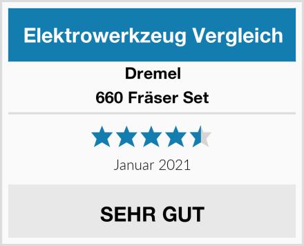 Dremel 660 Fräser Set Test