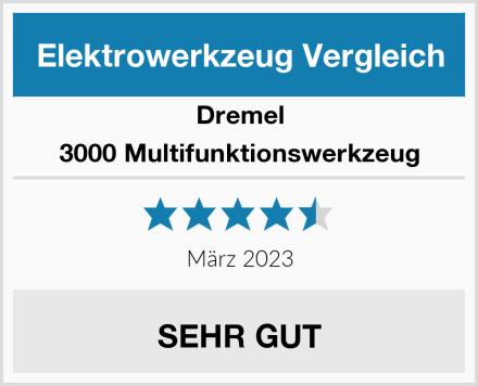 Dremel 3000 Multifunktionswerkzeug Test