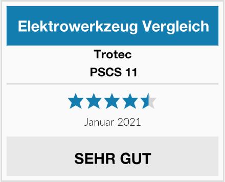 Trotec PSCS 11 Test