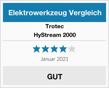 Trotec HyStream 2000 Test