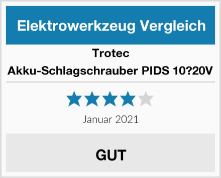Trotec Akku-Schlagschrauber PIDS 10?20V Test