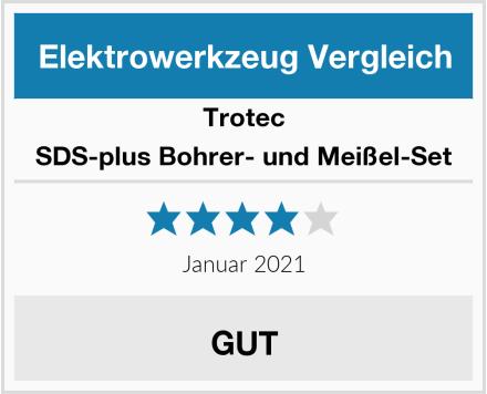 Trotec SDS-plus Bohrer- und Meißel-Set Test