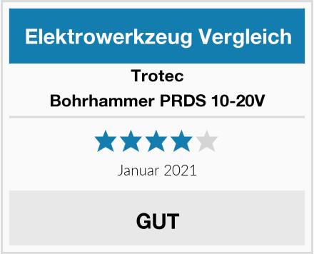Trotec Bohrhammer PRDS 10-20V Test