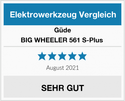 Güde BIG WHEELER 561 S-Plus  Test