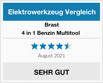 Brast 4 in 1 Benzin Multitool  Test